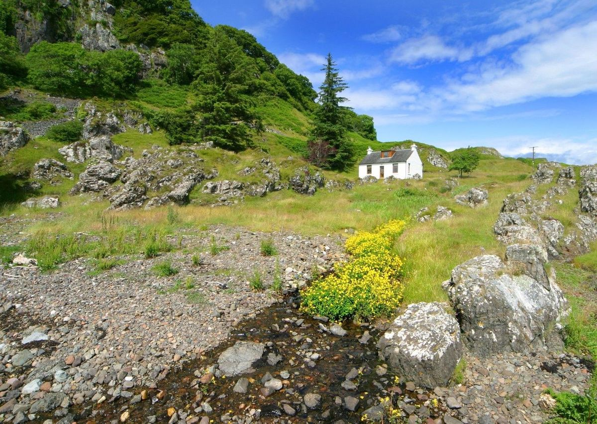 Secluded Tigh Beg Croft