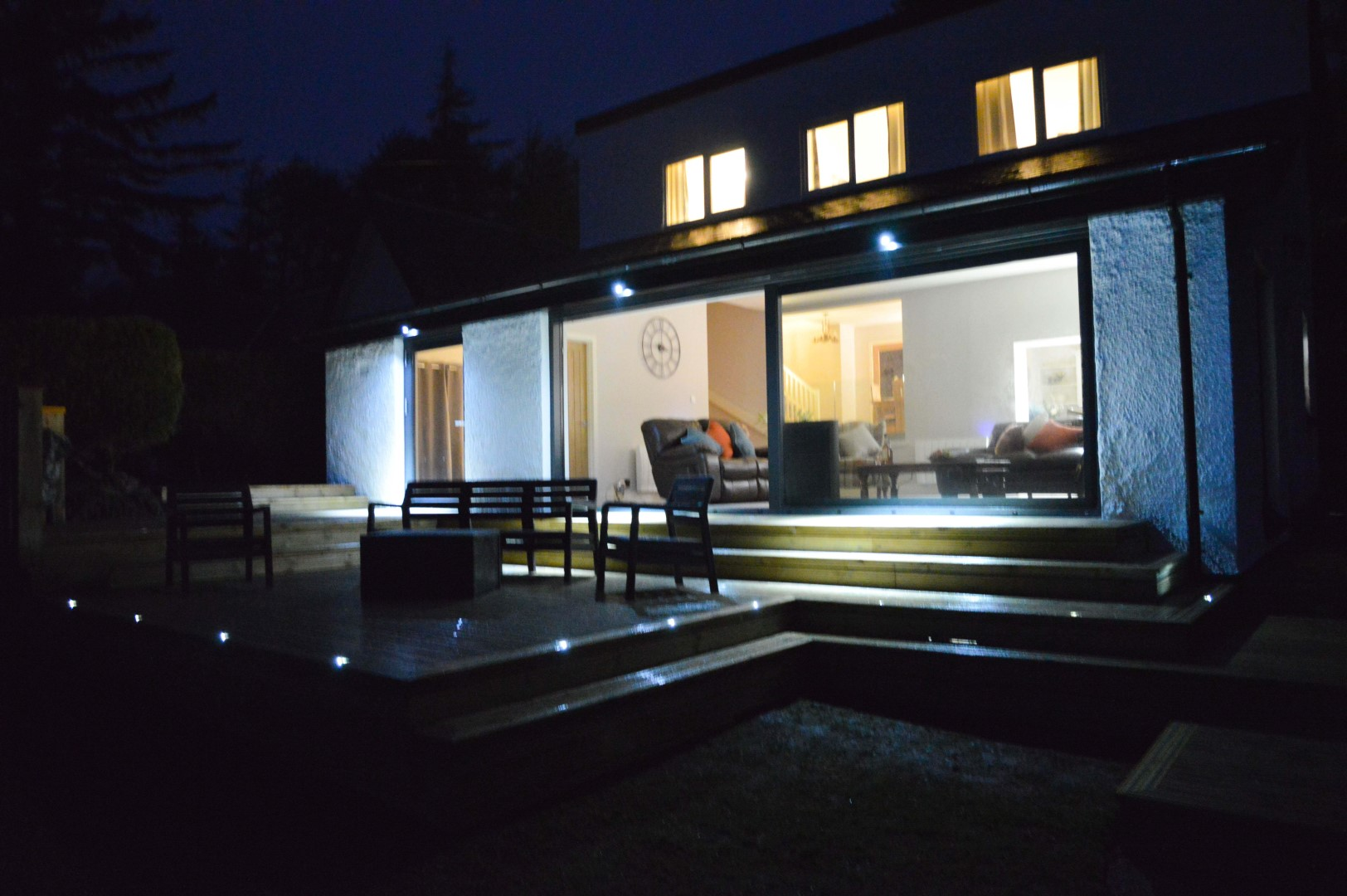 Decking Area at Night