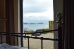 View of Asknish Bay from Double Bedroom