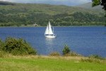 Sailing on Loch Etive