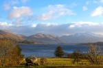 View of Ben Cruachan from Cottage